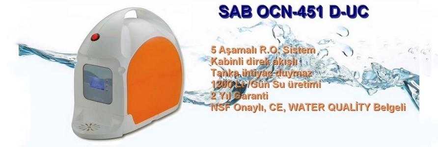 SAB OCN-451 D-UC Direkt Akışlı Pompalı Su Arıtma Cihazı