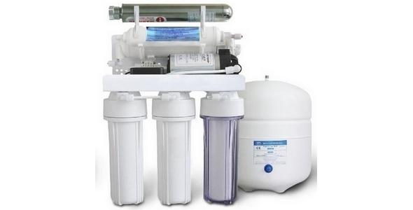 SAB RO-150PUV Pompalı Ultraviyole Filtreli Su Arıtma Cihazı