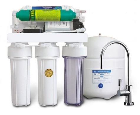 SAB-PPh Pompalı Alkali Filtreli Su Arıtma Cihazı