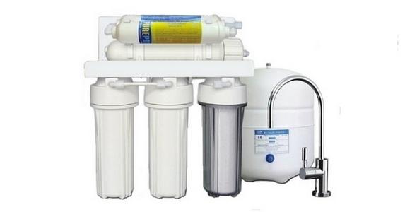 SAB RO-150M Tezgâh altı 6 Aşamalı Mineral Filtreli Pompasız Su Arıtma Cihazı