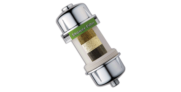 Duş Filtresi SW-R Model Gümüş Rengi Metal Kaplama
